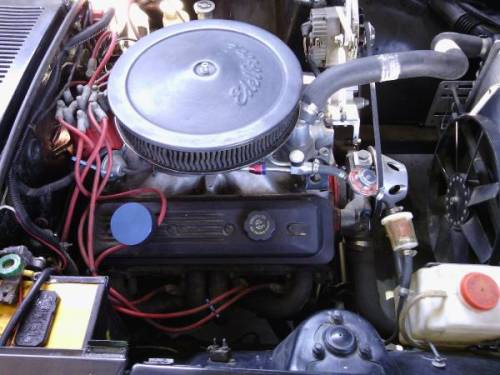 1973 Gilroy CA Engine