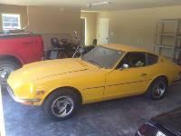 1973 240Z Great Body Yellow