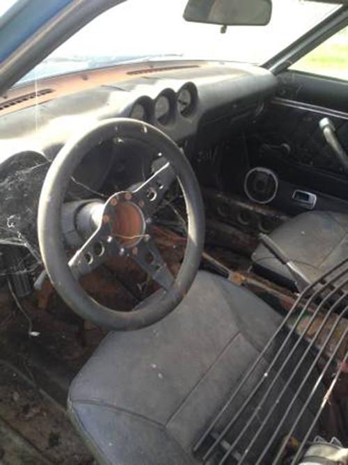 1970 Lincoln CA interior