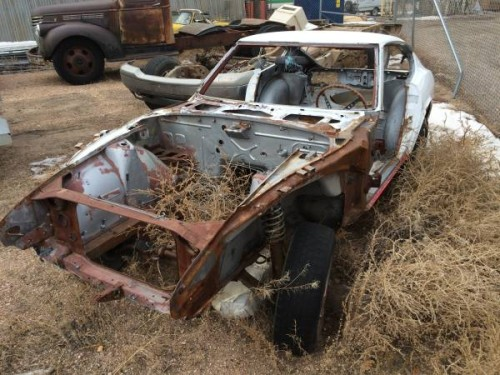 1972 Datsun 240Z Chassis and Parts For Sale in Laramie WY