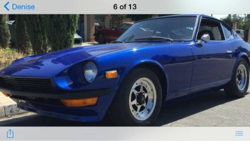 1973 Datsun 240Z For Sale in Moreno Valley CA $28K