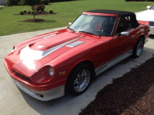 Craigslist Greensboro Nc 1973 Datsun 240z Convertible For