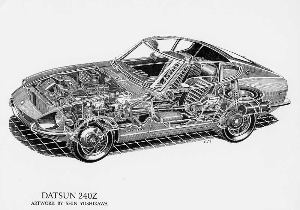 240Z & Fairlady Z Specifications