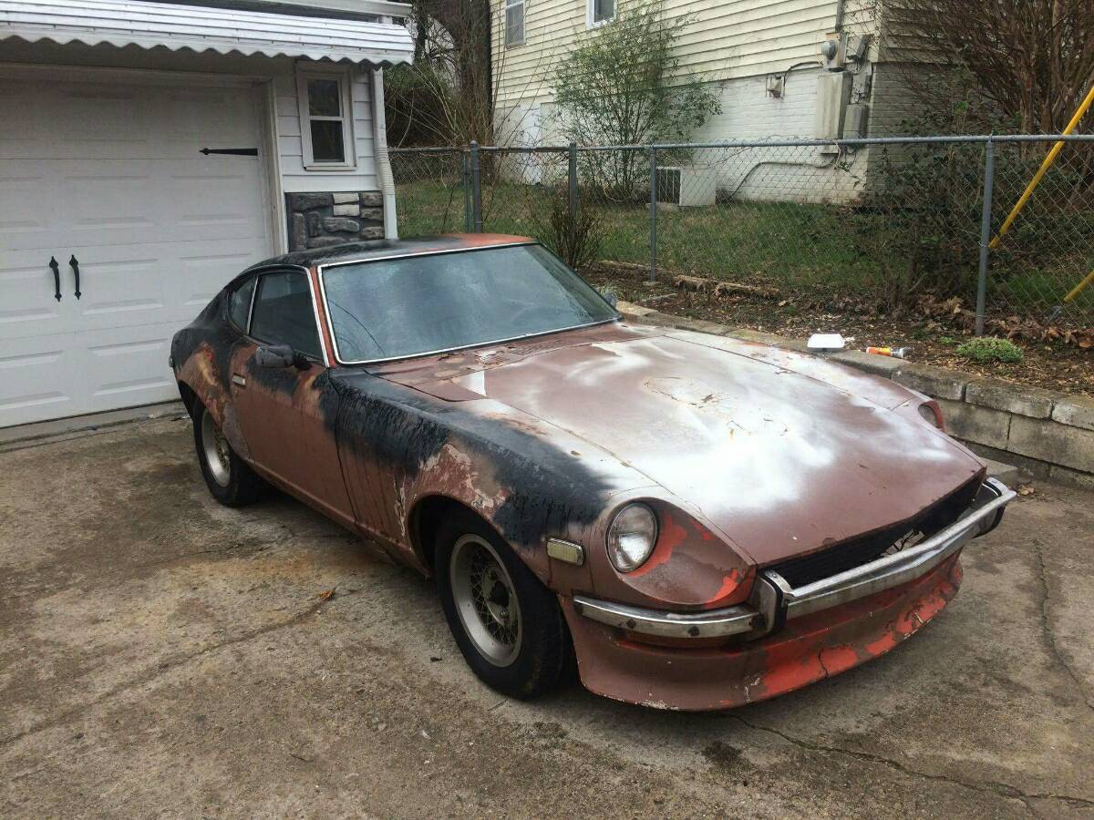 1972 Datsun 240Z S30 Project For Sale or Trade in East